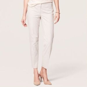 Ann Taylor Loft Khakis Cropped Pants